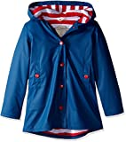 Hatley Splash Jacket-Navy (Girls), Impermeable Bambina, Blu, 2 Anni