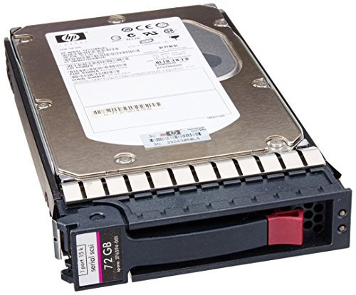 HP 72 GB 15 K RPM HOT PLUG SAS 3.5 Single Port Hard Drive-Festplatte (73 GB, SAS, 15000 rpm, 3 GB/s) (73 Gb Sas Hdd)