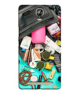 FUSON Designer Back Case Cover for Gionee Marathon M5 Plus (Basic Wardrobe Closet Essentials And Basic Creams)