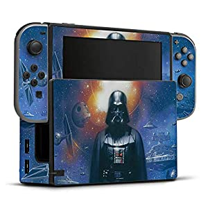 DeinDesign Skin Aufkleber Sticker Folie für Nintendo Switch Star Wars Merchandise Fanartikel The Dark Side
