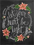 Posterlounge Forex-Platte 90 x 120 cm: Let Your Heart Be Light von Lily & Val/MGL Licensing