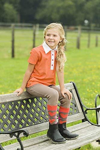 HKM Niños Polo de Sweetheart Blusa, Todo el año, Infantil, Color Naranja, tamaño 110/116