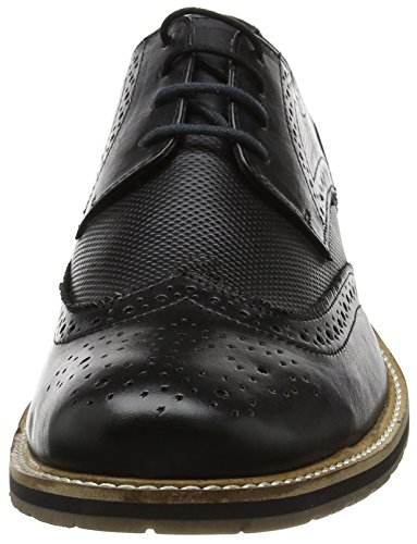 Lotus Hatch, Brogues Homme Noir (noir)