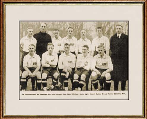 World of Football Fotorahmen DT. Meister 1923