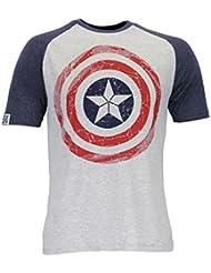Marvel Avengers - Camiseta para hombre Capitan America