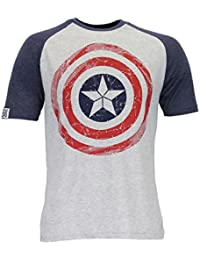 Marvel Captain America Mens Avengers Captain America T-Shirt