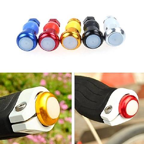 2X Fahrrad LED Leuchte Lenkerendkappen Lenkerstopfen Bar End Plugs Blinker Licht