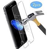 iPhone 7 Protector de Pantalla , Ubegood iPhone 7 Vidrio Templado Tempered glass HD Definición Cristal Screen Protector para iPhone 7 - 2 Pack