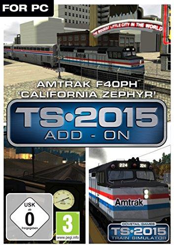 Train Simulator 2015 Amtrak F40PH 'California Zephyr'