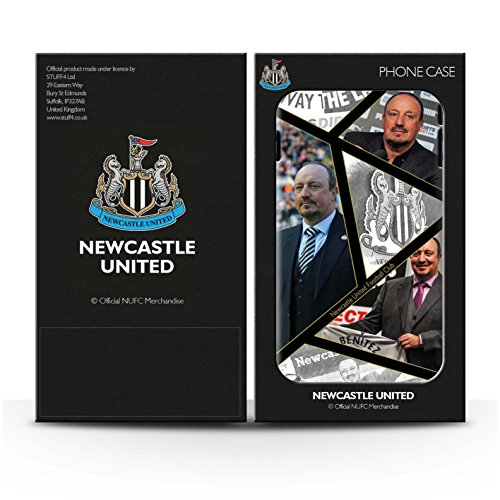 Officiel Newcastle United FC Coque / Clipser Matte Etui pour Apple iPhone 5C / Pack 8pcs Design / NUFC Rafa Benítez Collection Montage