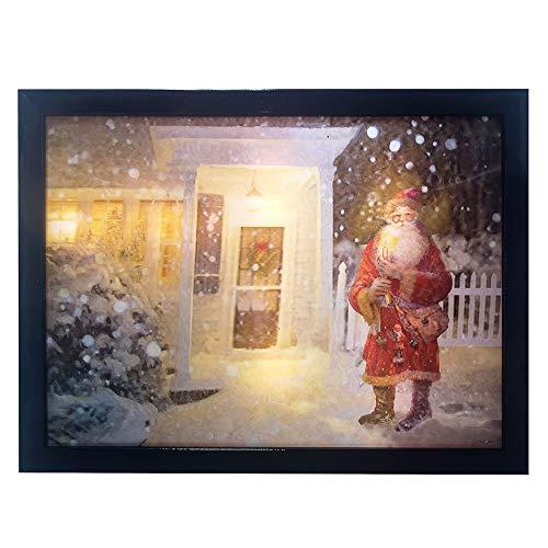 Kurt Adler Kurt S. Adler Lichterkette, 39,62 cm, batteriebetrieben, 3D-LED, Weihnachtsdekoration, Mehrfarbig