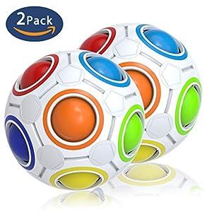 Splaks Magic Ball Magisch Regenbogen Ball Spielzeug 2019 Fidget Geschenke 2...