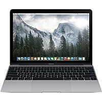 "Apple MacBook Portatile, 12"" Retina, Core M 1.1GHz, 8 GB RAM, 256 GB SSD, Intel HD 5300/Space, Grigio"