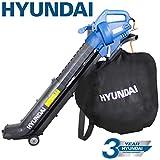 Hyundai 3 in 1 3000W Electric Leaf Blower Vacuum & Shredder Lightweight