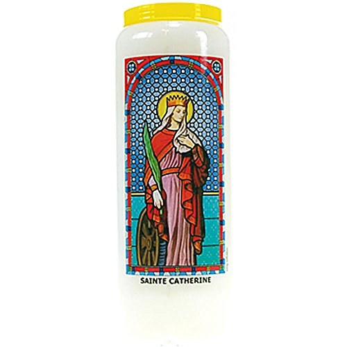 Neuvaine vitrail : sainte catherine par  DG-EXODIF
