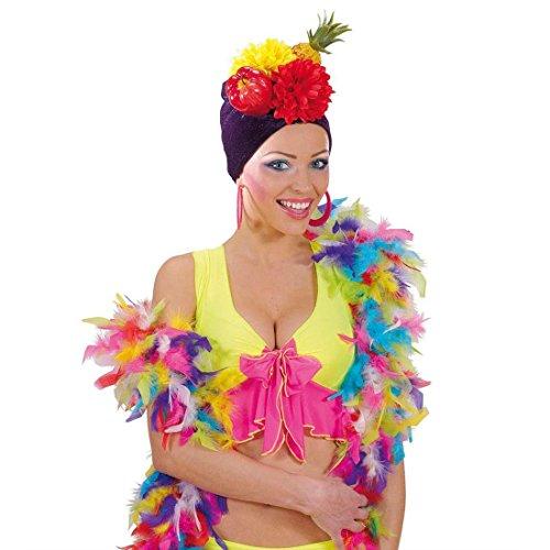 NET TOYS Bunte Federboa Lange Federstola 1,80 m Deko Feder Boa Fasching Federschal Party Stola Samba Schal Rio Tänzerin Kostüm Accessoires