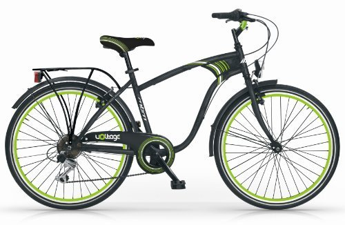 MBM VOLTAGE 24 BICYCLE BIKE MAN CITY TREKKING 6S BICICLETA CIUDAD HOMBRE VERDE