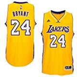 Maillot en jersey NBA Kobe Bryant, Los Angeles Lakers swingman , jaune