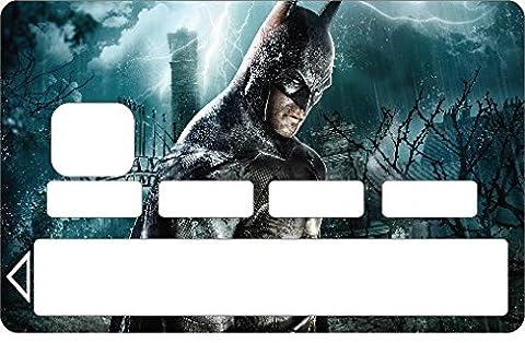 Stickersnews - Stickers Autocollant Carte bancaire - Skin - CB Batman 1127