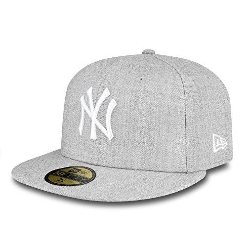 New Era 59Fifty New York Yankees Kappe Herren, Grau, 7 3/4