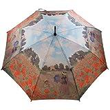 Regenschirm Kunst Claude Monet Mohnfeld