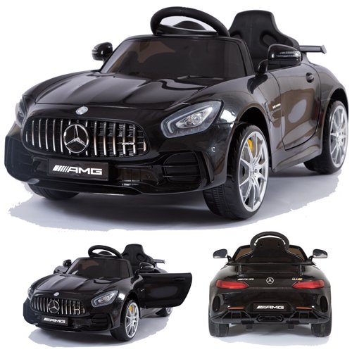 Mercedes-Benz GT-R GTR SoftStart Kinderauto Kinderfahrzeug Kinder Elektroauto (schwarz)*