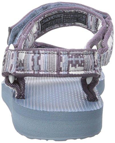 Breit Plum Teva Textile Original Universal Inca Multi Sportsandale Offener Spitze FAnBUqwAg