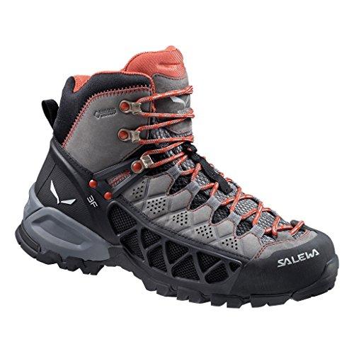 SALEWA WS ALP FLOW MID GTX Damen Trekking- & Wanderstiefel Grau