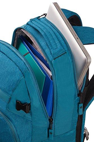 Imagen de samsonite rewind m  tipo casual para portátil, 44 cm, 23 l, color turquesa alternativa