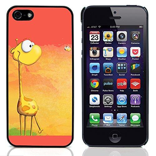 Graphic4You Giraffe Tier Design Harte Hülle Case Tasche Schutzhülle für Apple iPhone 5 und 5S Design #2