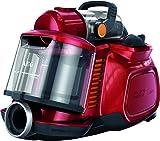 AEG ASPC7120 SilentPerformer Cyclonic All Floor Bagless Cylinder Vacuum Cleaner, 800 W - Watermelon Red