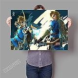 XWArtpic 3D Online Spiel Poster Für kinderzimmer Schlafzimmer Dekoration wandkunst HD Kindergarten Kinderzimmer Cartoon Movie leinwand malerei 60 * 100 cm