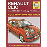 Renault Clio Petrol and Diesel Service and Repair Manual: 2001 to 2005 (Service & repair manuals) by A. K. Legg (12-Sep-2014) Hardcover
