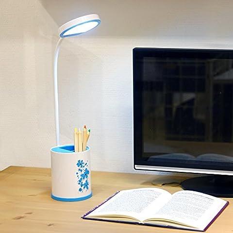 LLYY-Moda creativa batteria ricaricabile lampada occhio studio scrivania dormitorio bambino carino penna computer bianco touch switch-LYA