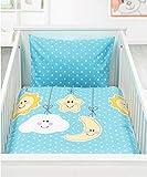 Holiday fantastica moderne Baby bambini biancheria da letto in cotone con chiusura lampo 100X 13540X 60, 100% cotone, design 3, 100 x 135 cm