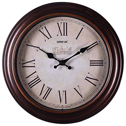 Oreva Ajanta (Oreva) Quartz Round Plastic Wall Clock (30.5 Cm X 4...