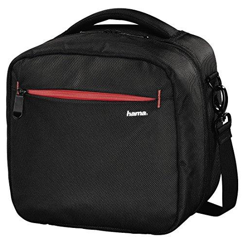 Hama Tasche für Drohne inkl. Zubehör (universell passend für Drohnen bis 20 x 20 cm, extra leicht, abnehmbarer Schultergurt, herausnehmbare Innentasche, Drohnentasche) schwarz