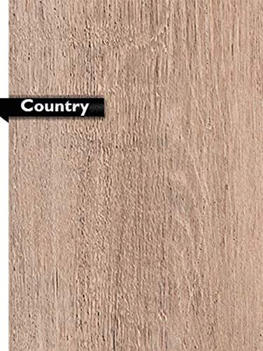 Livello di rivitalizzazione delle scale con decoro Country – Livello di campionamento – ca 20 cm x 20 cm e un CD con tutte le informazioni per la ristrutturazione delle scale – Azione: consegna gratuita.