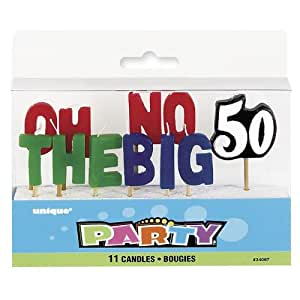Oh No The Big 50 Pick Candles