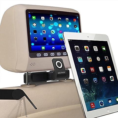 Chiusura magnetica per Tablet-Supporto per poggiatesta auto,