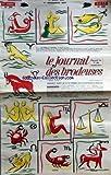 JOURNAL DES BRODEUSES (LE) [No 895] du 01/11/1969 - ALPHABET SIMPLE ET COMBINABLE FEUILLAGE GUIRLANDE DE FLEURS A TRAVERS BOIS ET PRES GLADYS LES SIGNES DU ZODIAQUE