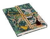 #10: DI-KRAFT Handmade paper Bamboo lock Designer cover Green Diary/Notebook, 120 gsm