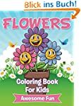 Flowers Coloring Book For Kids (Art B...