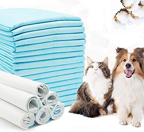 BPS Tappetini Igienici per l'Addestramento di Cani e Gatti, con Feromoni per Attirare i Cuccioli e Semplificare l'Addestramento, Prodotto per Animali Domestici, Misura XL, 60x90cm, BPS-2170