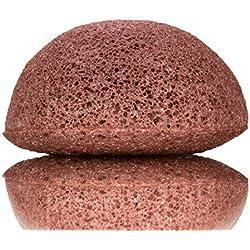 Para cara y cuerp, de arcilla roja (100% Natural, Vegano)