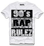 DOPEHOUSE T-Shirt Camiseta 90s RAP HIP HOP TAPES BIGGIE RETRO GANGSTER GANGSTA WEST COAST VINTAGE , L