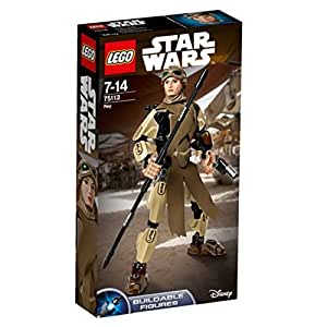 LEGO Star Wars Buildable Figures 75113 - Rey, 7-14 Anni