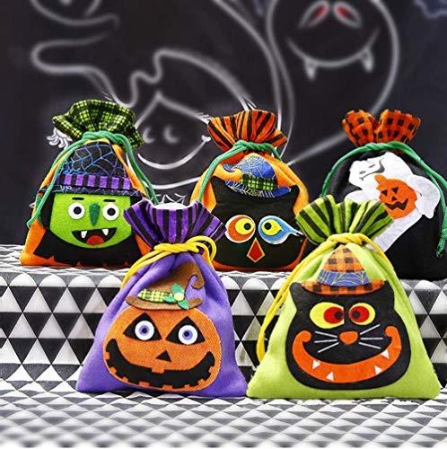 Good Sister Halloween Tunnelzug Süßigkeiten Tasche Niedlich Halloween Party Geschenkbeutel für Kinder