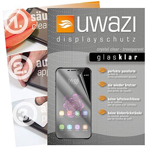 Oukitel U20 Plus Schutzfolie 5x uwazi glas-klare Bildschirmschutzfolie Folie