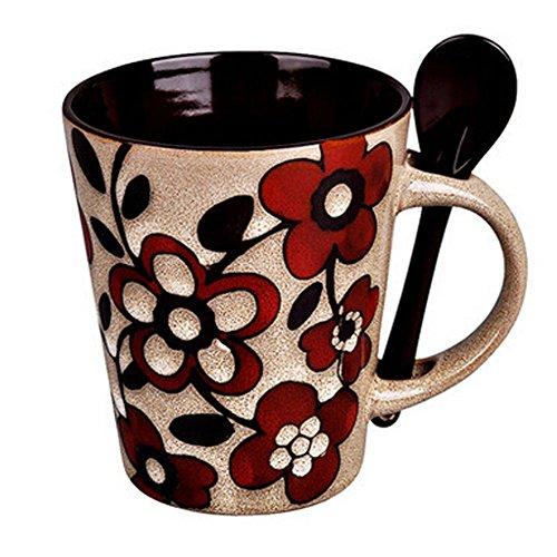 Kreative & Personalized Tassen Porzellan Tee-Schale Kaffeetasse B?ro-Tassen, L